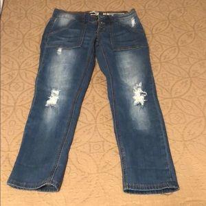 NWOT indigo rein jeans